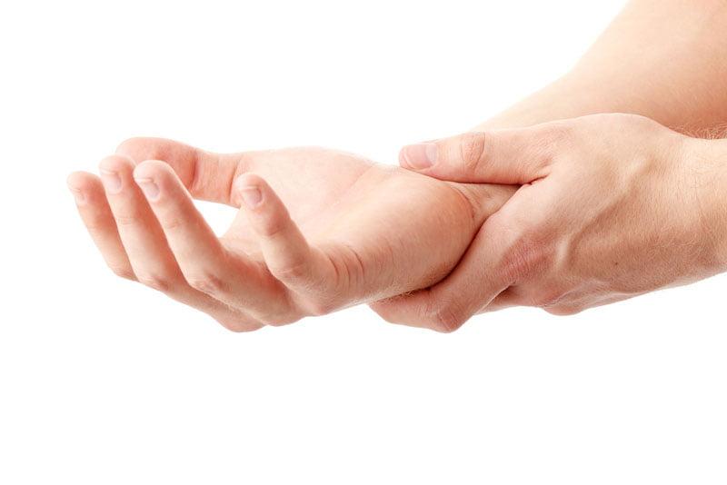 leziuni la mână
