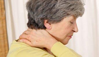 Spondiloza cervilcală - simptom de vertij, Foto: nhs.uk
