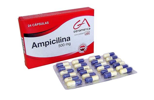 Ampicilina, Foto: edifarm.com.ec