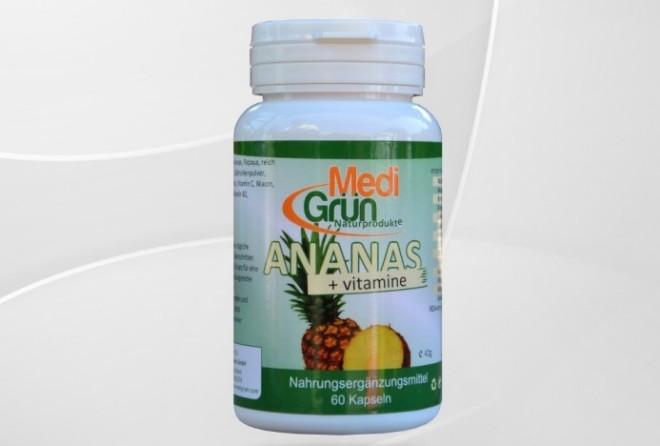Ananas și vitamine MediGrün