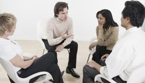 Anxietatea socială, terapie de grup, Foto: sf-act.com