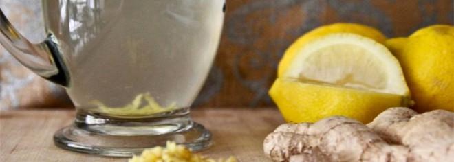 Băutură energizantă din ghimbir, lămâie, usturoi și apă, Foto: organiclifestylemagazine.com