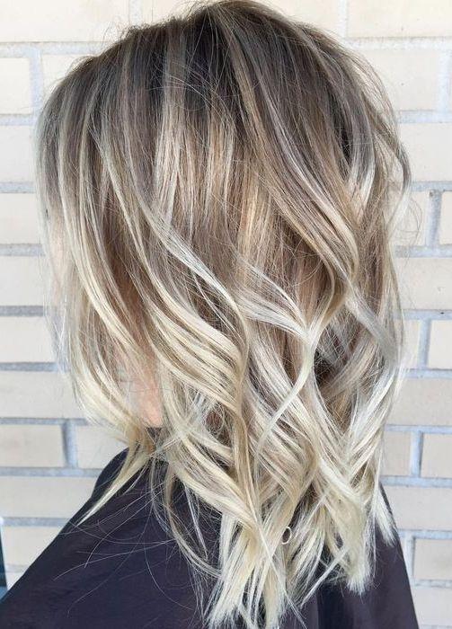 Balayage Nuante De Blond 2018