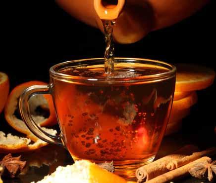 Ceai negru cu scorțisoară, un preparat bogat în antioxidanți, Foto: dietstol.ru