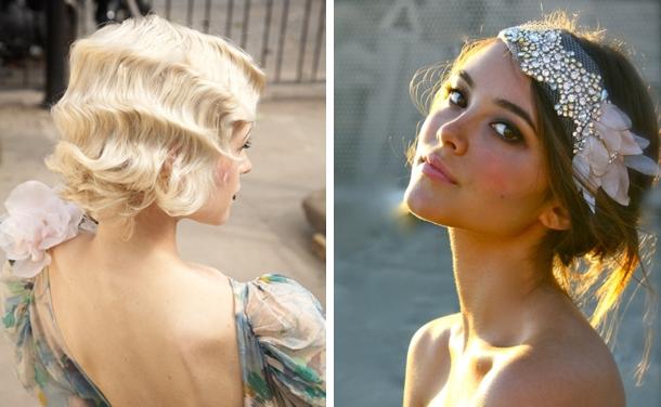 Coafură în stil Great Gatsby, Foto: southboundbride.com