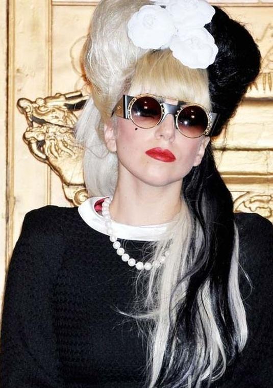 Coafură Lady Gaga, Foto: promiflash.de