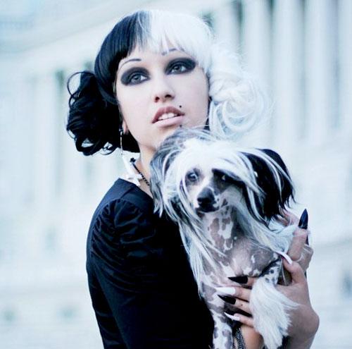 Coafură alb-negru, Foto: short-haircut.com