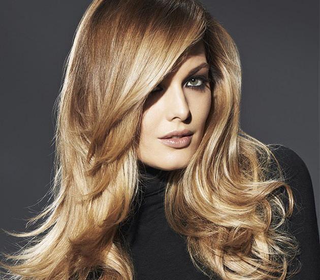 Coafură blondă modernă, tehnica Balayage, Foto: luxe.pp.ua