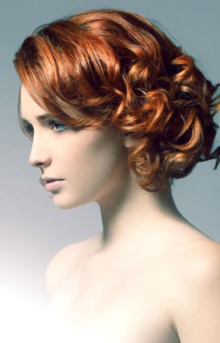 Coafură cu bucle, Foto: classic-hairstyles.com
