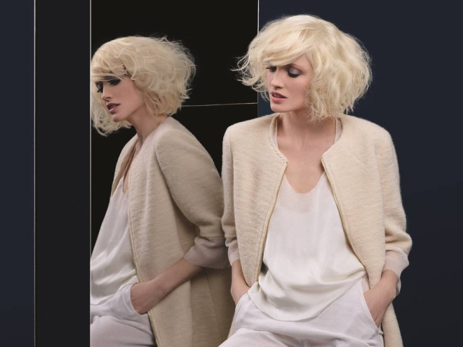Coafură cu volum, breton elegant, cu un aer de senzualitate, hairstylist Camille Albane, Foto: elle.fr