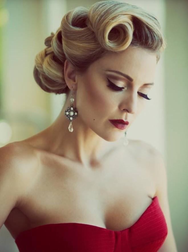 Coafură elegantă, retro, Foto: trusper.com