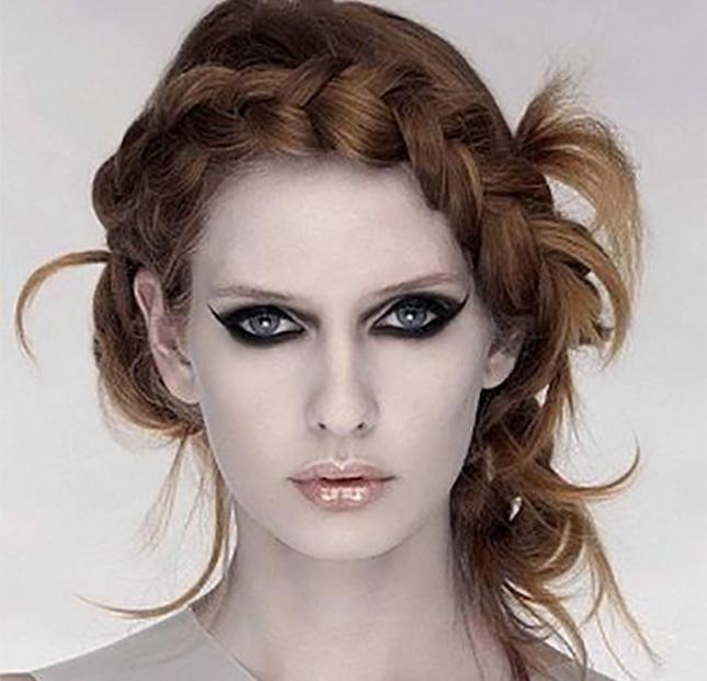 Coafură fină și elegantă, Foto: brit.co