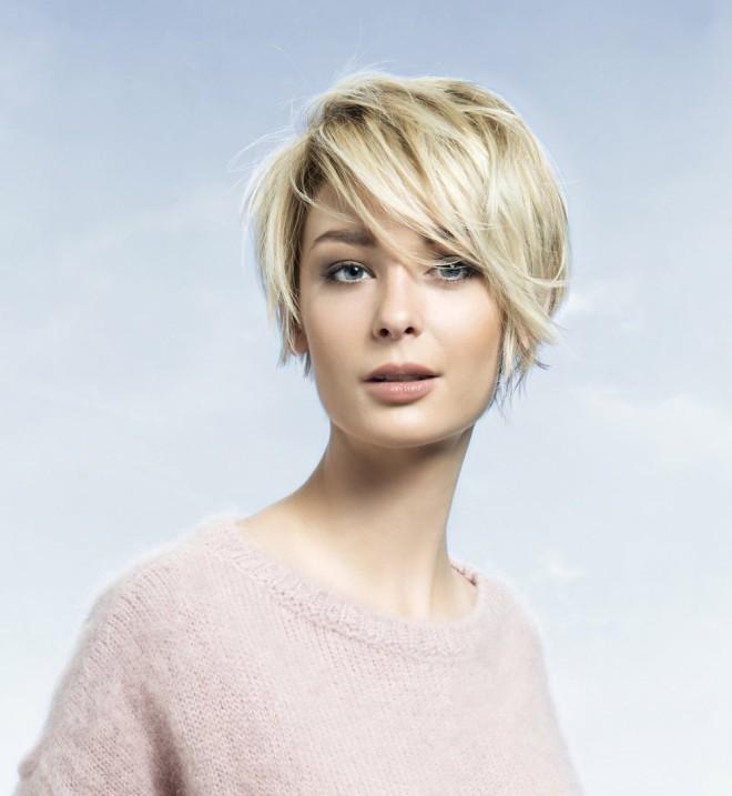 Coafură frumoasă pentru femei cu păr scurt, Foto: cosmopolitan.fr