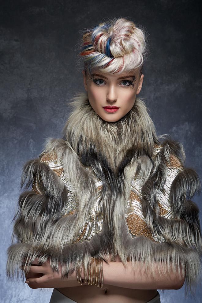 Coafură interesantă, de lux, Foto: belloskbellos.com