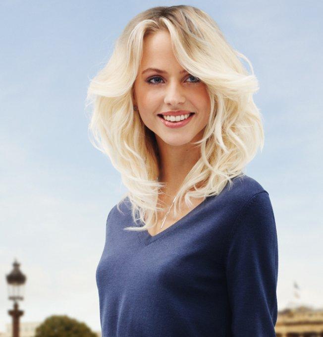 Coafură pentru păr de lungime medie, Foto: marieclaire.fr