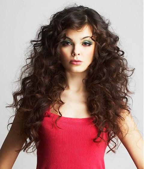 Coafură pentru păr ondulat, Foto: mujerchic.com