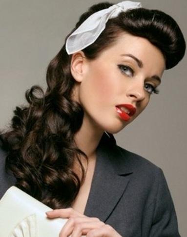 Coafură retro, Foto: makeupandbeauty.com
