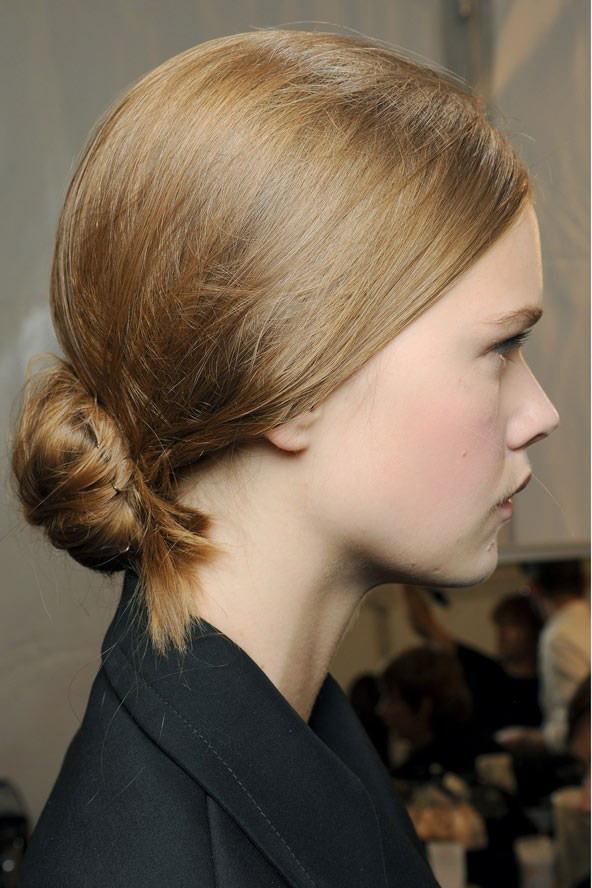 Coafură simplă, Foto: wardrobelooks.com