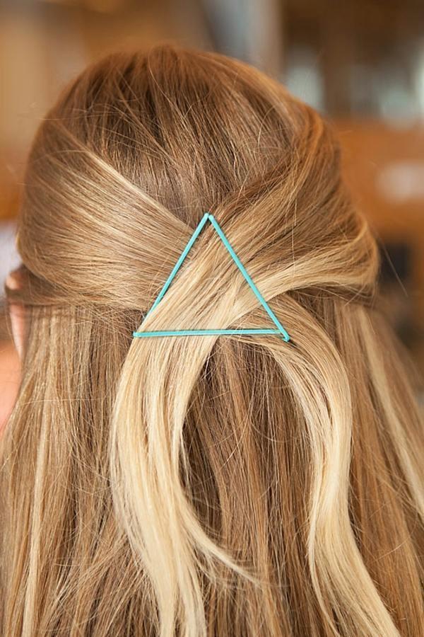 Coafură simplă pentru păr lung, Foto: fanrto.com