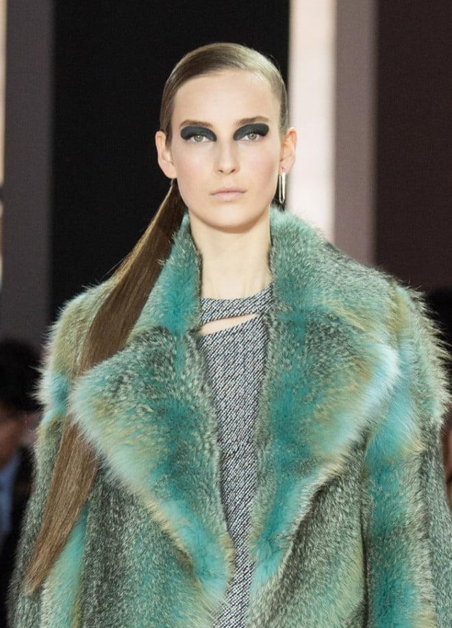 Coafură în prezentarea Dior, Foto: pixshark.com