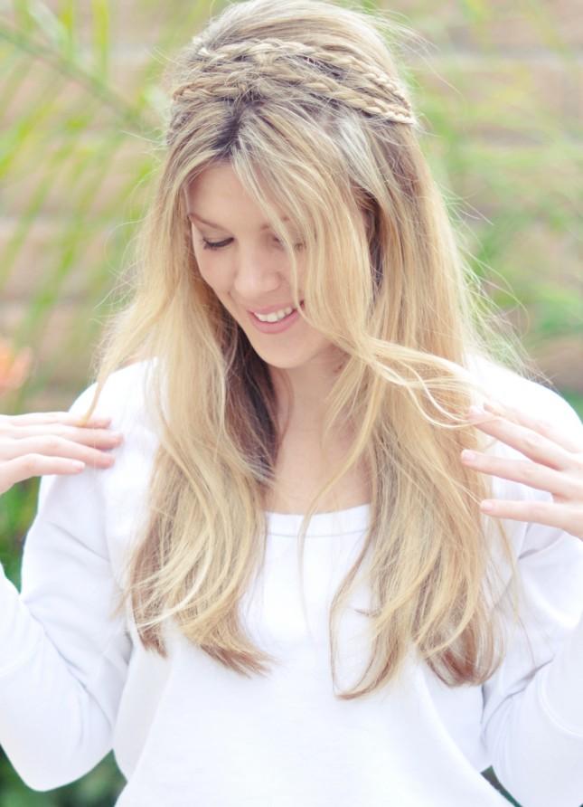Coafură în stil boem, Foto: brit.co