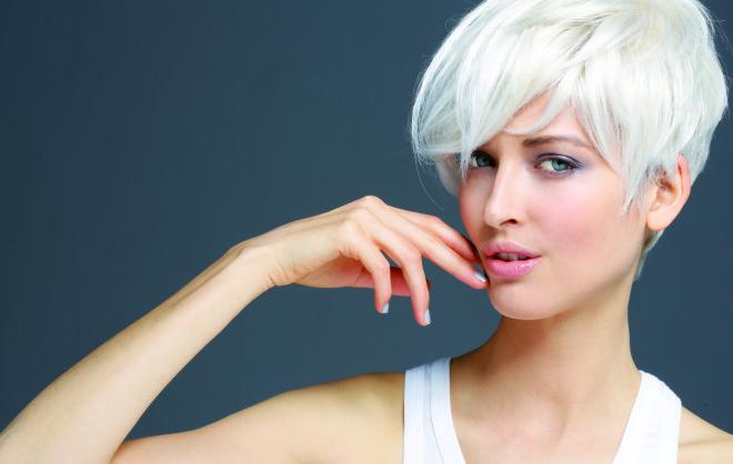 Coafură în tendințele modei, Foto: biguine.us
