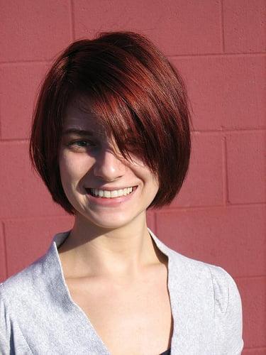 Coafură bob cu părul roșcat, Foto: istreetfashion.com