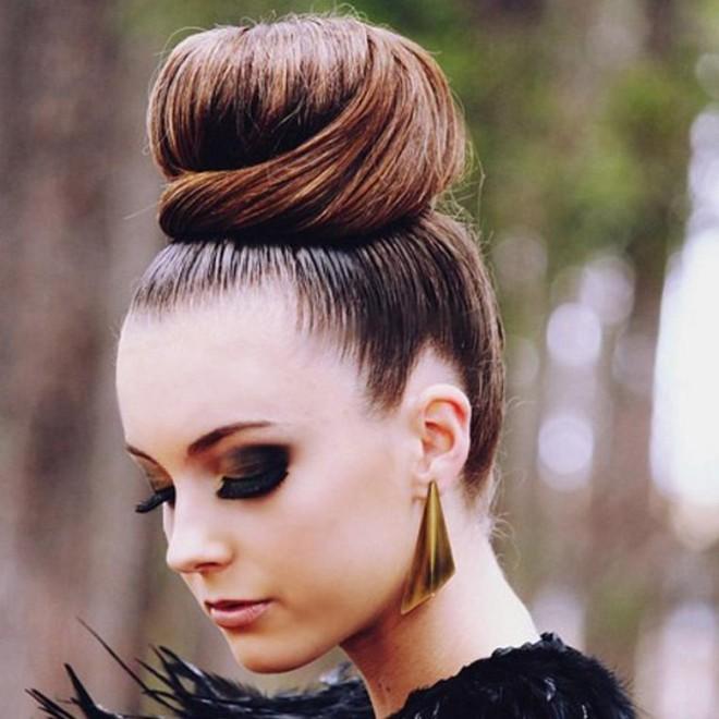 Coafură cu părul în coc, Foto: lady-fashion-swag.skyrock.com