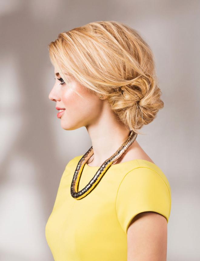 Coafură cu părul prins elegant, Foto: ihr-wellness-magazin.de