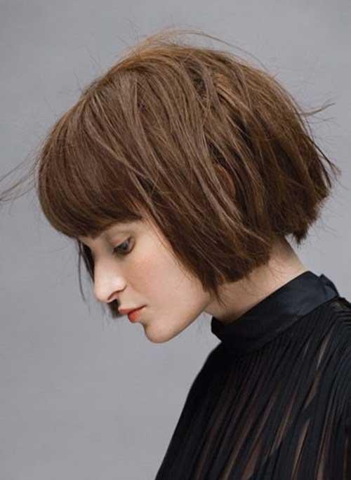 Coafură cu părul retezat la bază, Foto: trendy4.com