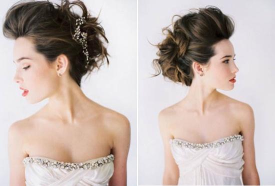 Coafură de mireasă, Foto: shefinds.com