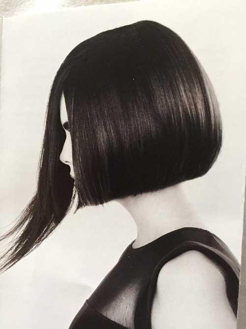 Coafură elegantă, asimetrică, Foto: wavygirlhair.com