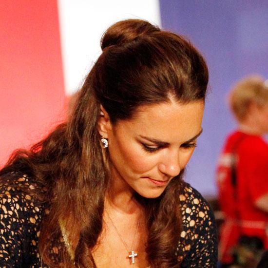 Coafură elegantă la Kate Middleton, Foto: popsugar.com.au