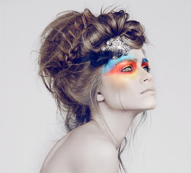 Coafură extravagantă, Foto: brit.co