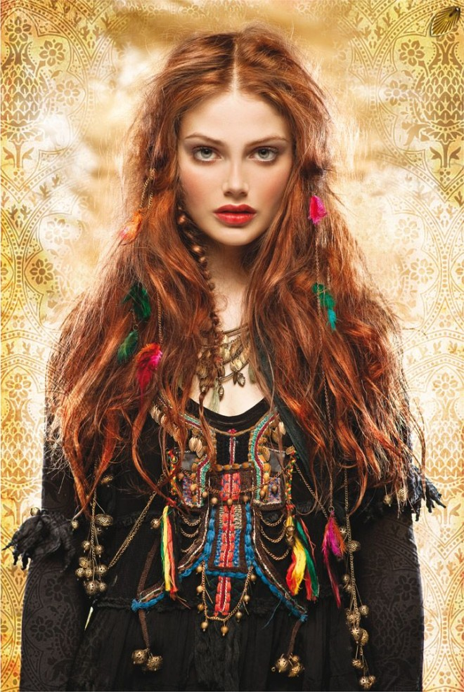 Coafură gypsy, Foto: wefollowpics.com