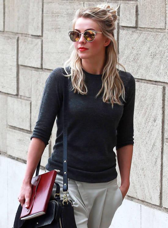 Coafură ,,hun,, pentru păr blond, Foto: minibeautylife.com