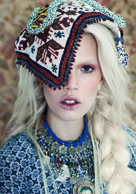 Coafură inspirată din stilul gypsy, Foto: refusestolabel.com