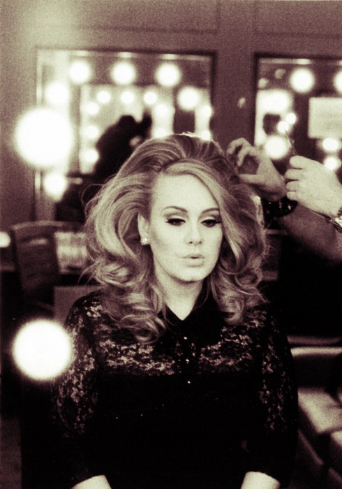 Coafură la Adele, Foto: violanteadkins.tumblr.com