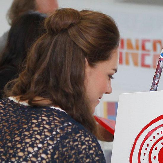 Coafură la Kate Middleton, Foto: popsugar.com.au