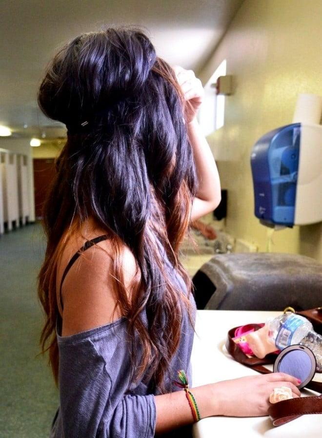 Coafură modernă în stil hippie, Foto: ladyzest.com
