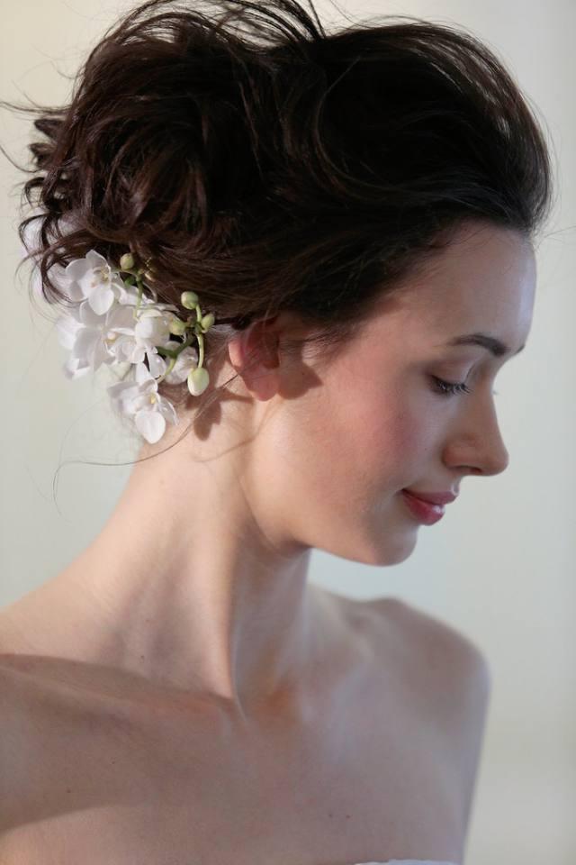 Coafură pentru mireasă în tedințele modei din primăvara anului 2016, Foto: wnews247.com