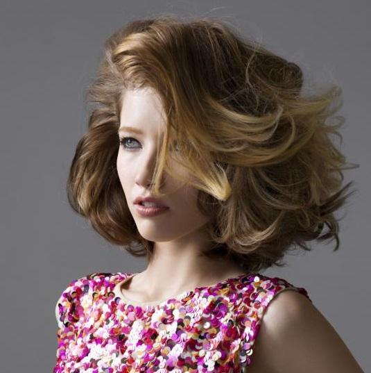 Coafură pentru păr mediu, Foto: flair.be