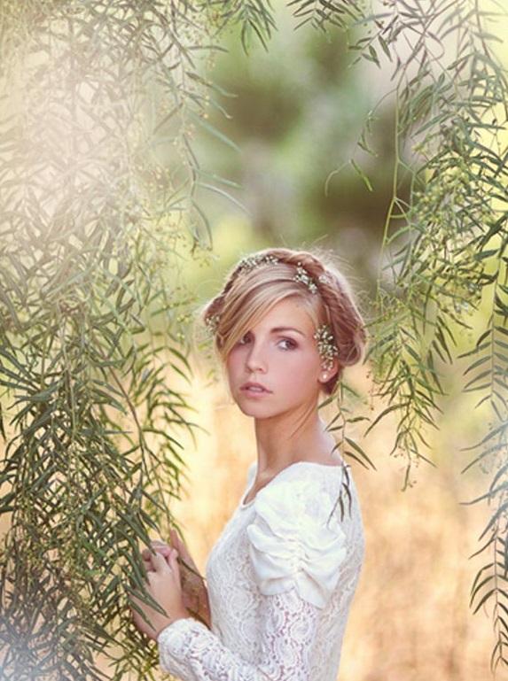 Coafură simplă, romantică, Foto: phlearn.com