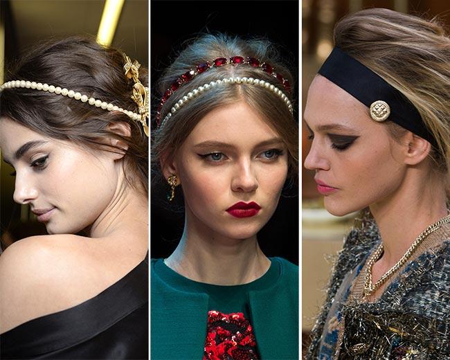 Coafuri cu accesorii de păr la modă în 2016, Foto: fashionisers.com