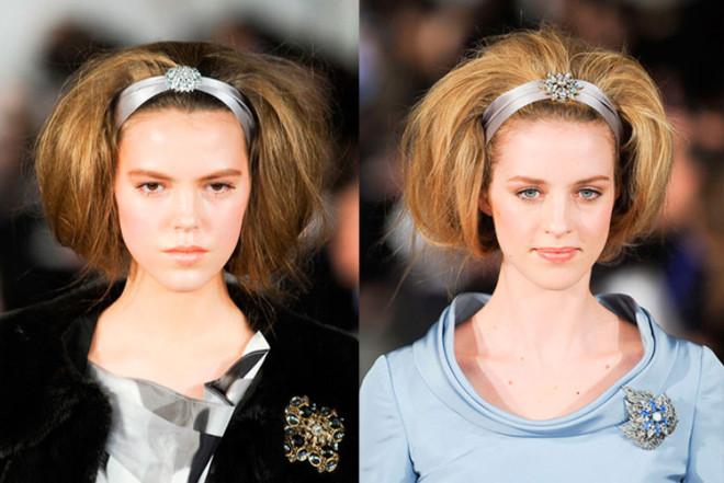 Coafuri cu bentiță și păr voluminos, Foto: artofcare.ru