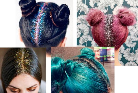 Coafuri cu glitter, moderne, Foto: stylista.no