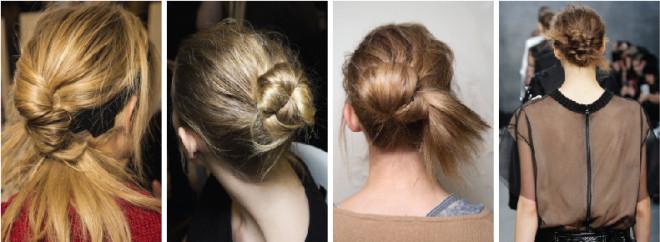 Coafuri cu părul prins la spate, în stil updo, Foto: funkmartini.gr