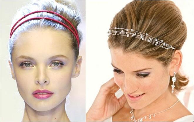 Coafuri elegante în trend, Foto: svadbavo.ru