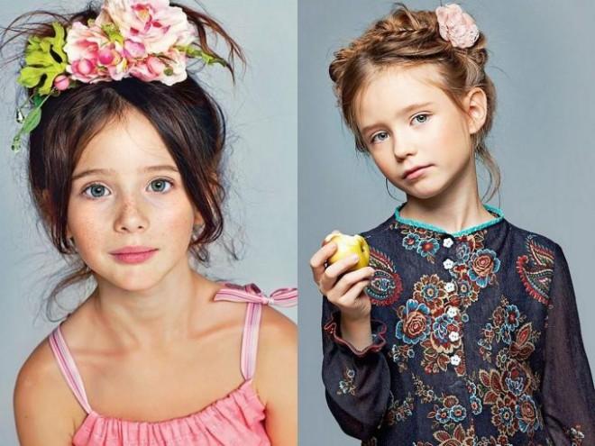 Coafuri elegante pentru copii, Foto: ditey.com