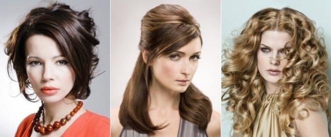 Coafuri elegante pentru femei cu vărsta de 30-40 de ani, Foto: sympaty.net